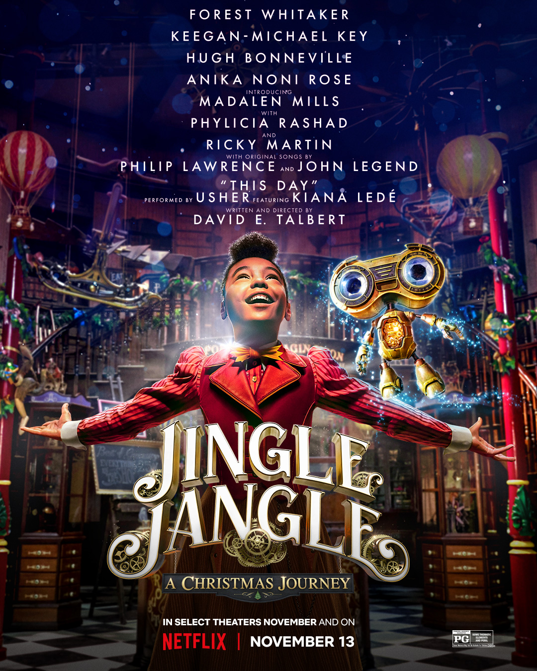 Discover a world of wishes and wonder: JINGLE JANGLE: A CHRISTMAS JOURNEY -  First look poster and trailer | Milk Publicity